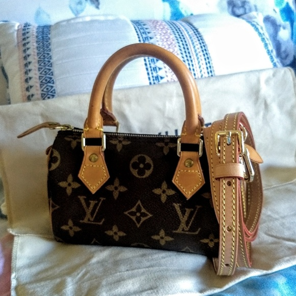 Louis Vuitton Handbags - LOUIS VUITTON Speedy Monogram Mini HL
